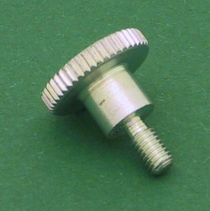 Programming module fixating screw