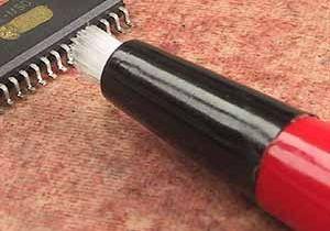 Fiberglass pen